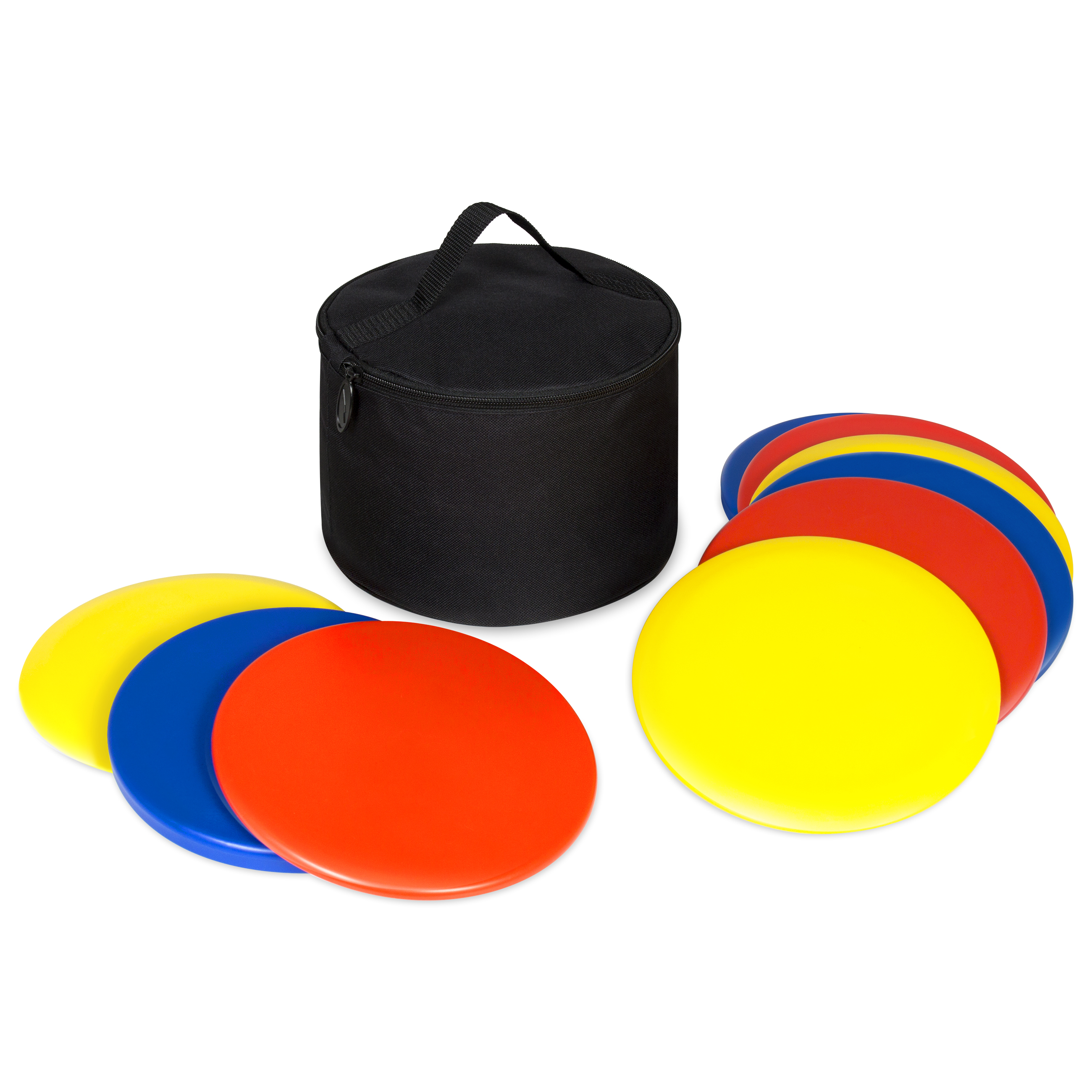 Best Choice Products 9-Piece Portable Lawn Games Disc Golf Set w  Carrying Bag Multicolor by Best Choice Products