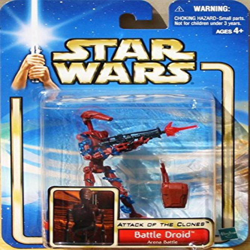 Star Wars Attack of the Clones Red Battle Droid Variant Arena Battle. 72517