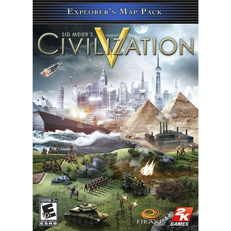 Sid Meier's Civilization V Explorer's Map Pack (PC) (Digital Download) - Civilizations Game