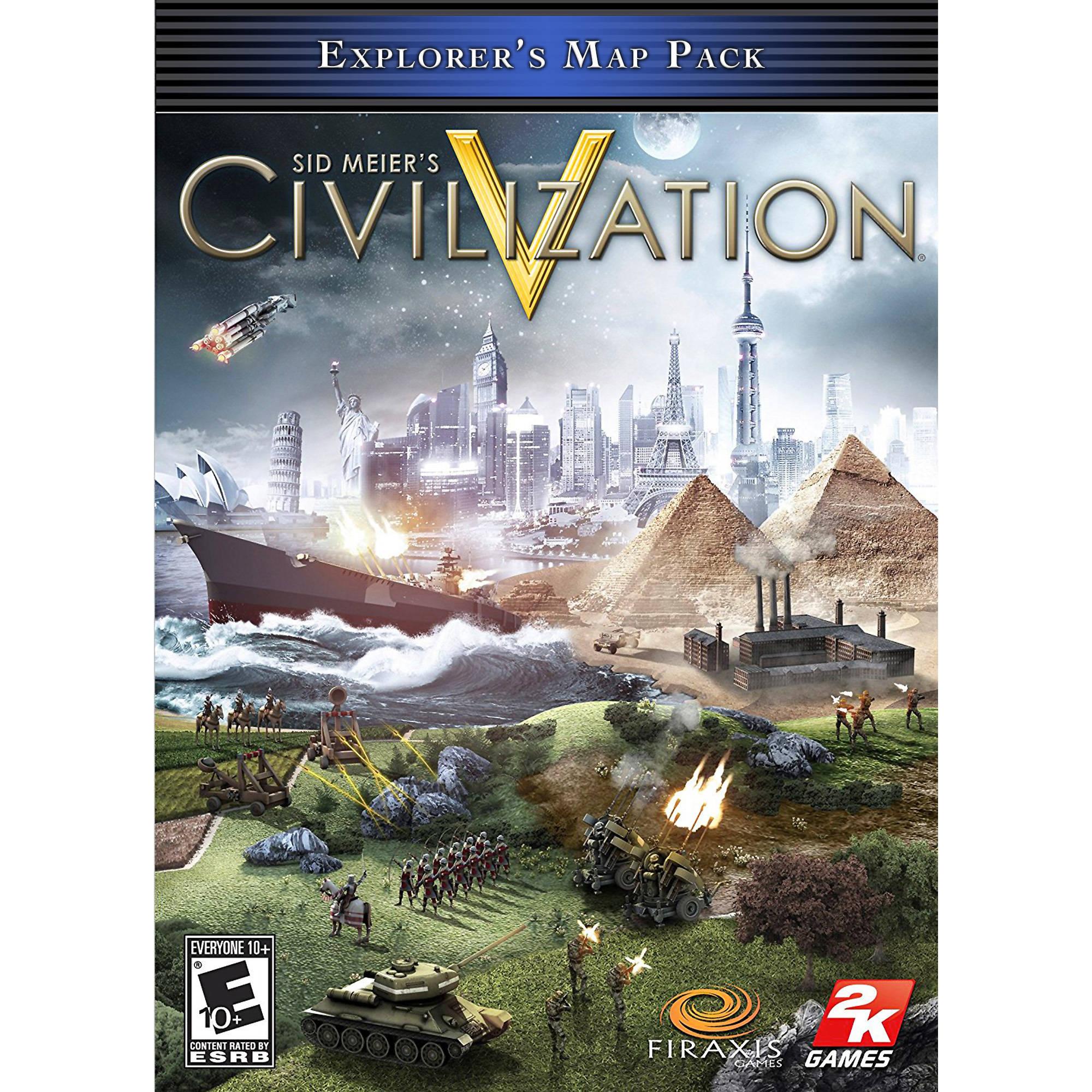 Sid Meier's Civilization V Explorer's Map Pack (PC) (Digital Download)
