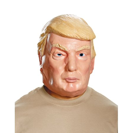 Deluxe Witch Mask - Donald Trump Deluxe Adult Mask