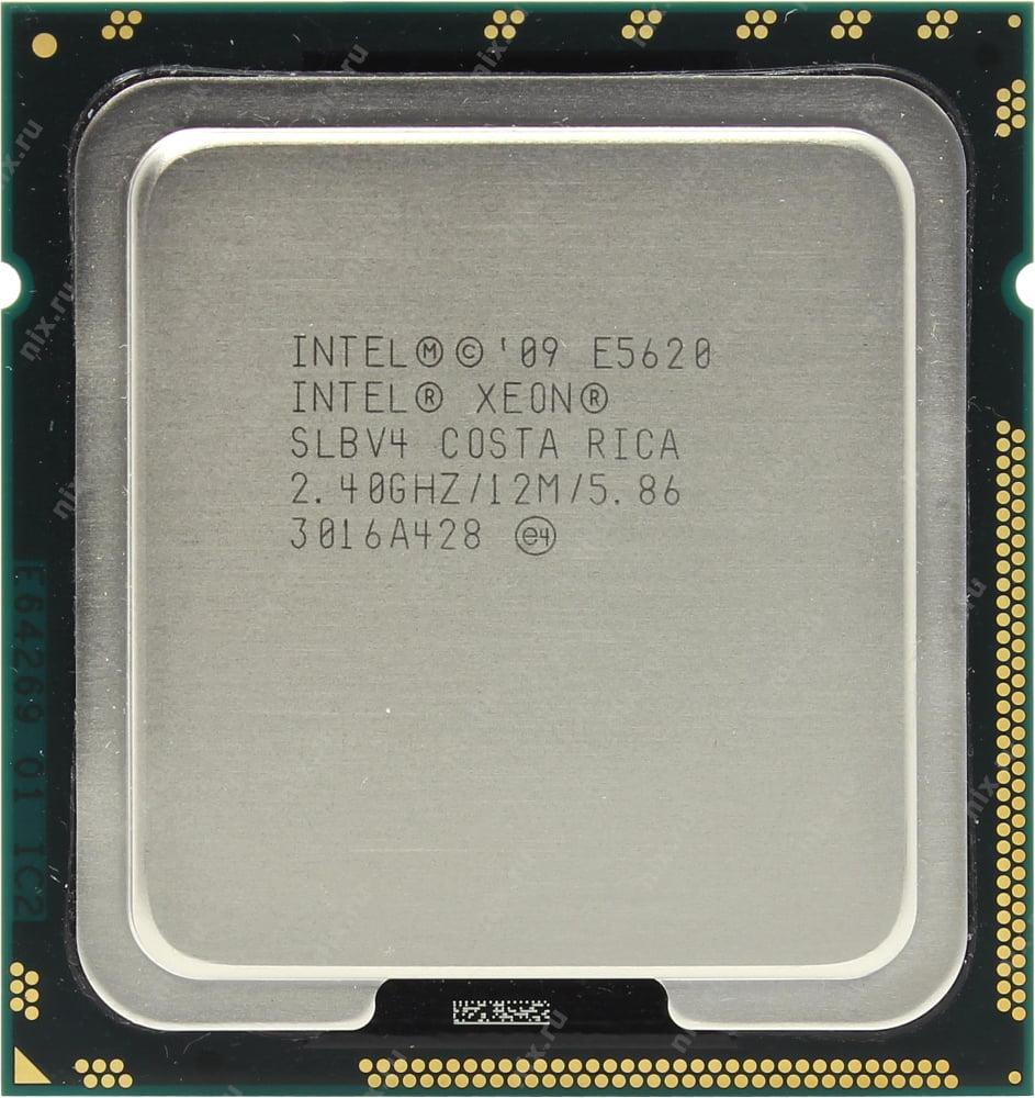 Intel Xeon Processor E5620 (12M Cache 2.40 GHz 5.86 GT/s Intel QPI) Refurbished