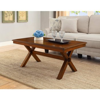 Better Homes and Gardens Maddox Crossing Coffee Table, Cognac