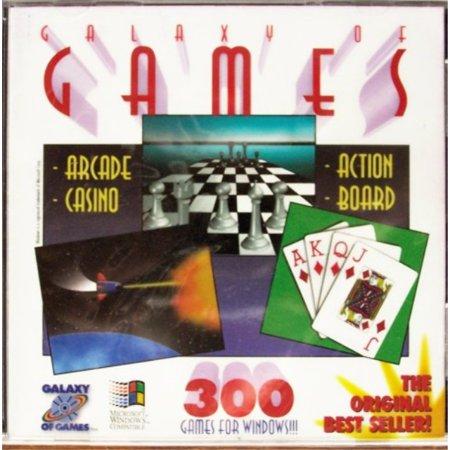 galaxy of games (over 300 arcade, casino, action, board & more) ()