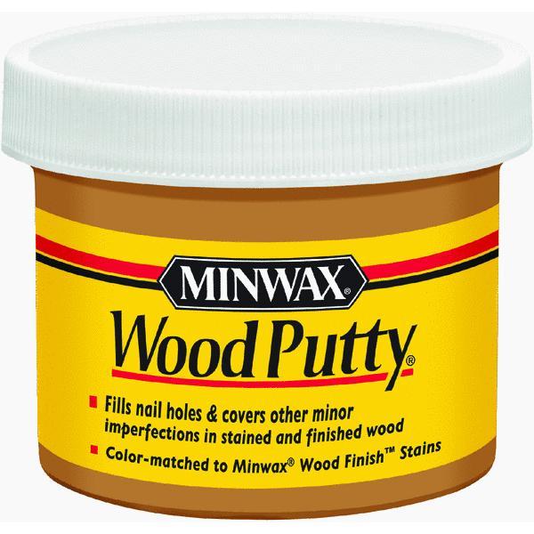 Minwax Wood Putty, 3.75 oz, Early American