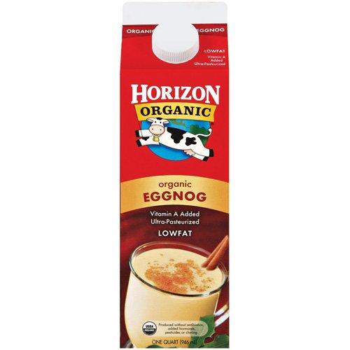 Horizon Organic Lowfat Egg Nog, 1qt