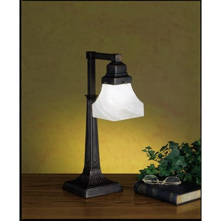 Meyda Tiffany 27624 Craftsman / Mission Accent Table Lamp from the Country Bungalow Collection