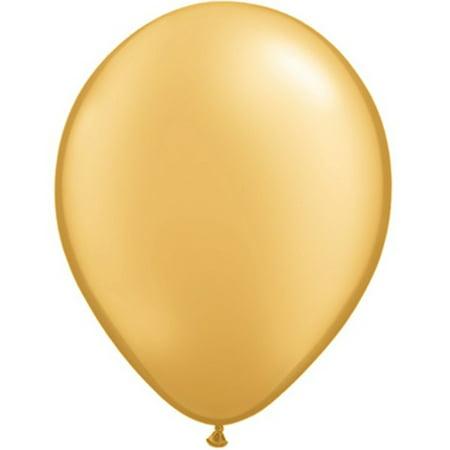 72 Radiant Gold Latex Balloons 11