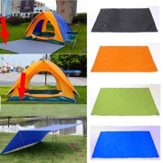"82.7""x59"" Rain Tarp Shelter, Waterproof Canopy Patio Cover Tent Tarp Awning Sun Shade Rain Shelter Camping Mat Pad for Patio Outdoor"