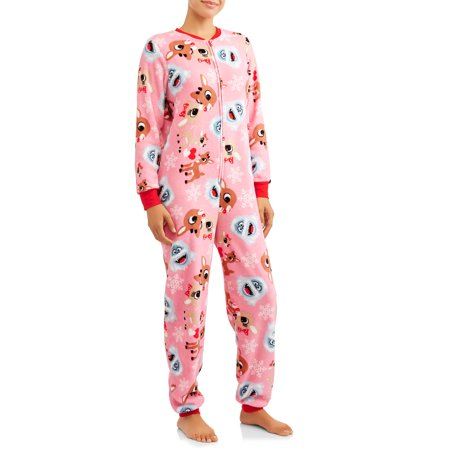 Rudolph Womens and Womens Plus Union Suit