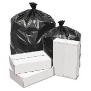 Linear Low Density Can Liners, 43 x 47, Black