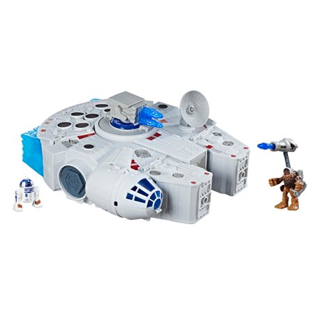 Star Wars Galactic Heroes 2-in-1 Millennium Falcon - Rc Millennium Falcon