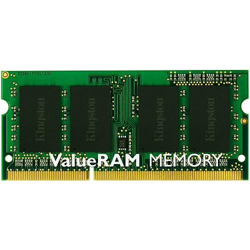 Kingston - DDR3 - 4 GB - SO-DIMM 204-pin - 1066 MHz / PC3-8500 - unbuffered - non-ECC - for Lenovo ThinkPad R400; R500; SL410; SL510; T400; T410; T510; W510; W70X; X201; X201 Tablet