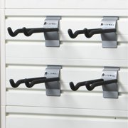 Flow Wall Systems Flow Wall 8-inch Long Hooks (Pack of 4)
