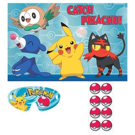 Pokemon 'Sun and Moon' Party Game Poster (1ct) - Wholesale Pokemon