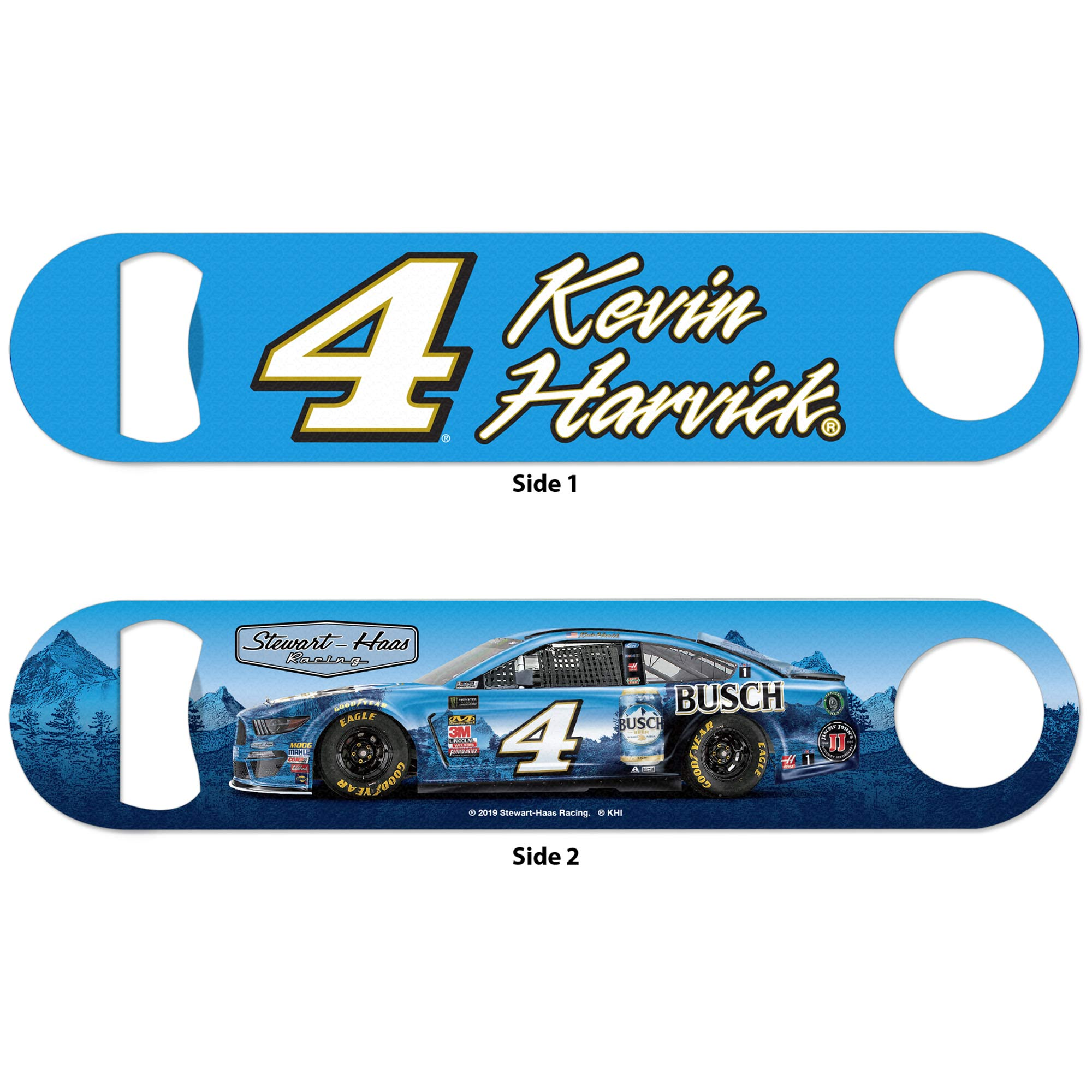 Kevin Harvick WinCraft Double-Sided Bottle Opener - No Size