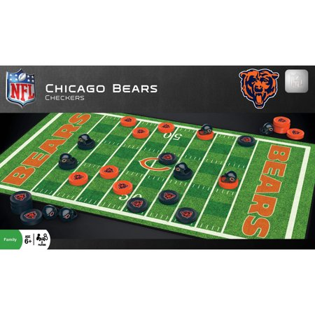 Chicago Bears NFL Checkers Set - No Size (Gummy Bear Halloween Games)