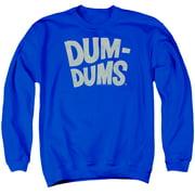 Dum Dums Distressed Logo Mens Crewneck Sweatshirt