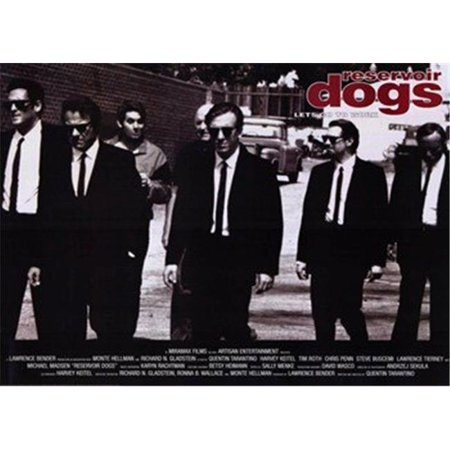 Posterazzi MOV216576 Reservoir Dogs Movie Poster - 17 x 11 in. - image 1 de 1