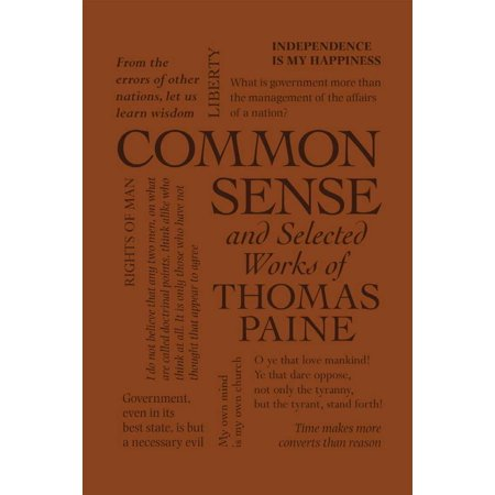 Common Sense and Selected Works of Thomas Paine (Select The Common Name For The Following Ether)