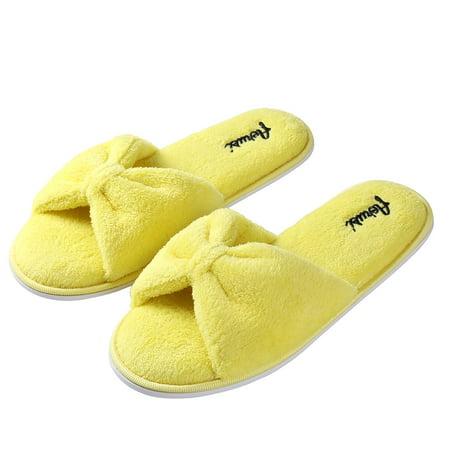 Aerusi Women's Cozy Slide Indoor Slippers - Sey Ladies