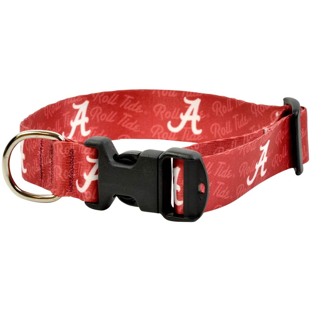 Game Day Dogs Alabama Crimson Tide Dog Collar