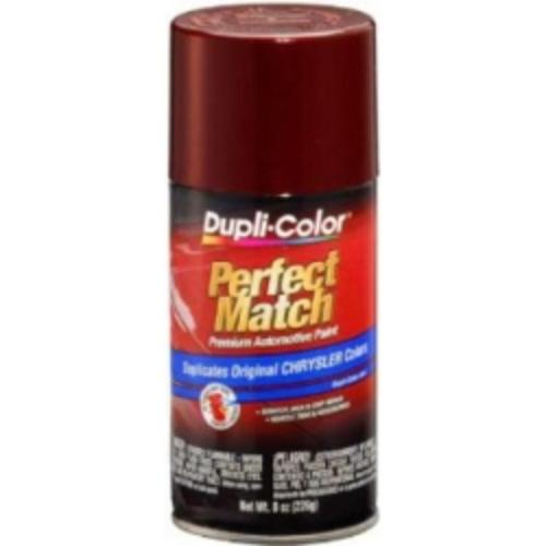 Krylon BCC0413 Perfect Match Automotive Paint, Chrysler Dark Garnet Red, 8 Oz Aerosol Can