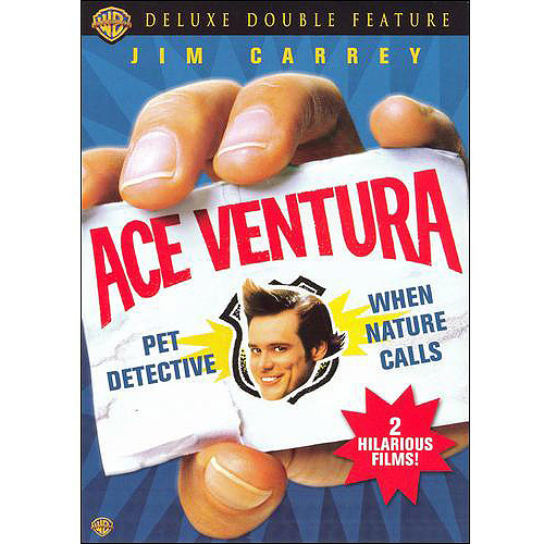 Ace Ventura Deluxe Double Feature (Pet Detective   When Nature Calls) by