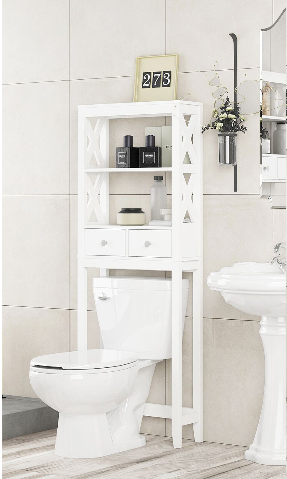 Walmart Bathroom Shelf Over Toilet