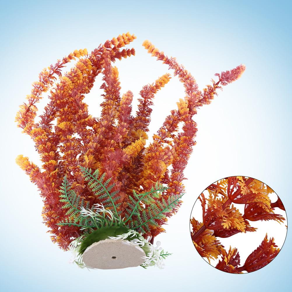 Durable Plastic Aquatic Plant Water Grass Aquarium Fish Tank Ornament Decor