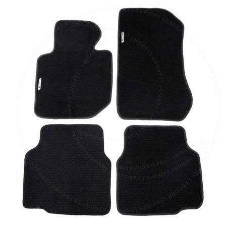 Fit 92-98 BMW E36i 325i 328i 330i Custom Premium Nylon Black Floor Mats Carpet For 1991 1994 1995 1996 1997 1998 92 93 9