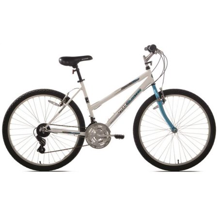 Kent Shogun Trail Blaster Sport Bicycle, 26 in Front, 26 in Rear, Steel Frame, Terrain Teal/White