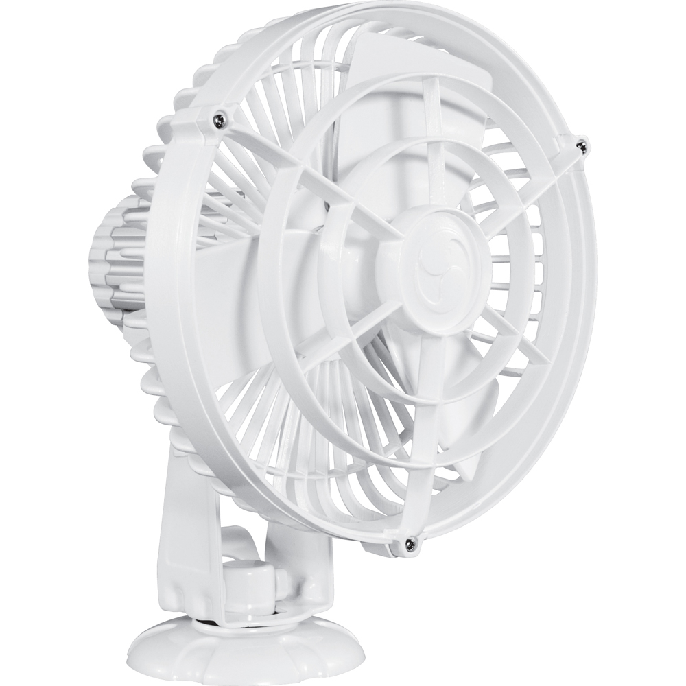 "CAFRAMO KONA 24V 3-SPEED 7"" WATERPROOF FAN WHITE"