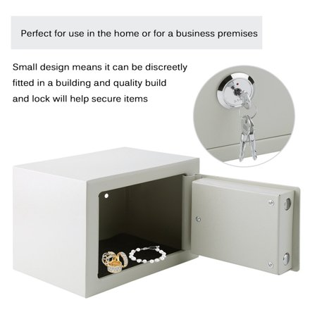 Durable Home Security Money Cash Safe Box Strong Steel ... on home gun safe, home security fireproof box, home safes for the good, home tax safe, home china, home safes fireproof waterproof, opening sentry safe, home furniture safe, home safe keys, home safe bracelet, home fire safe, home safe with combination lock, home safe box, home safes manufacturers, home safes cheap, home safes consumer reports, home safes digital, home office safe, home safes bolt to floor, security safe,