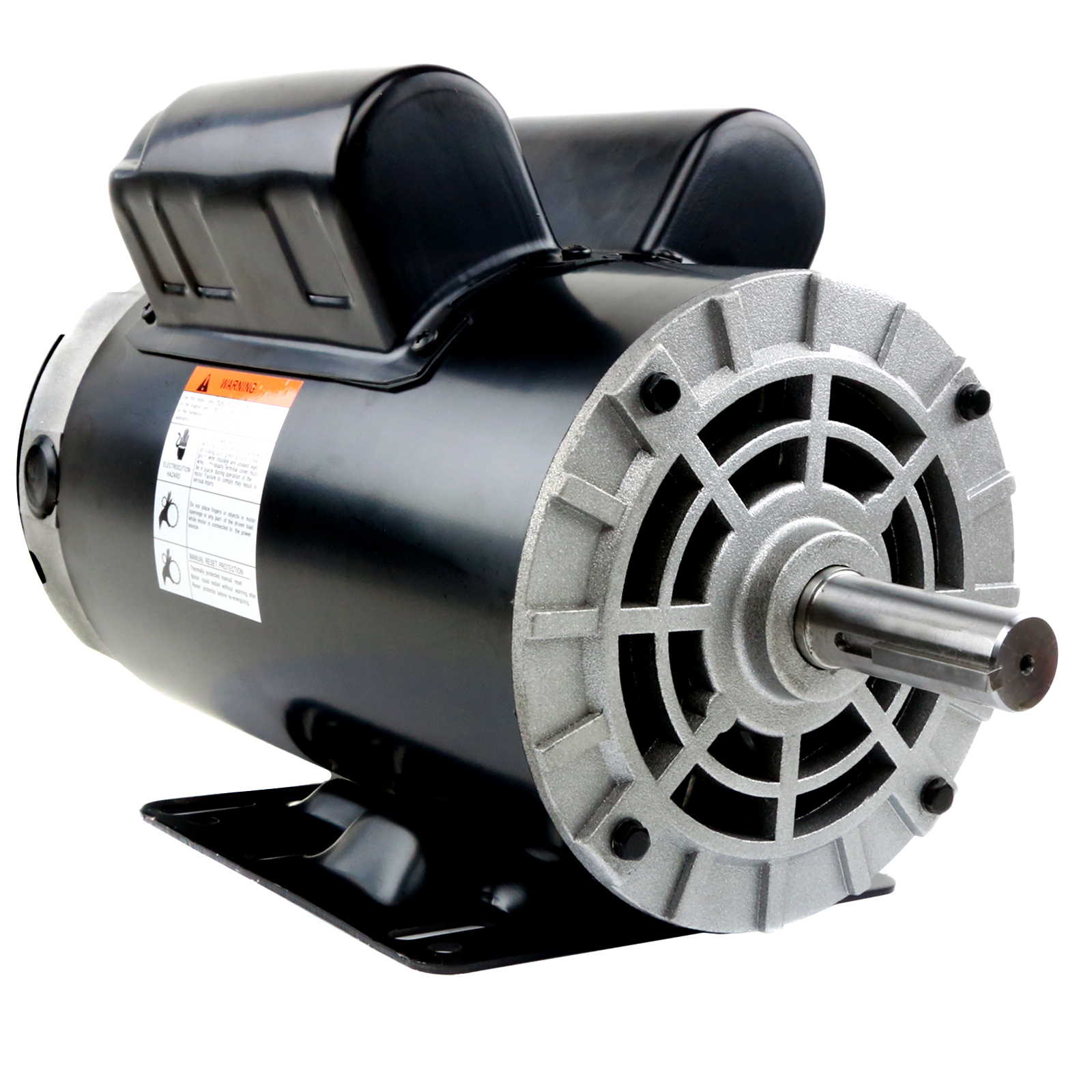 5 Hp Compressor Duty Electric Motor 1 Phase 3450 Rpm 56