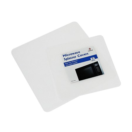 WELLAND Microwave Cooking Cover Clear Sheet, Set of 2