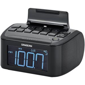 AM/FM/AUX CLOCK RADIO W/IPHONE DOCK