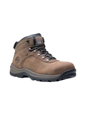 Men's Timberland PRO Flume Mid Work Waterproof Steel Safety Toe Boot