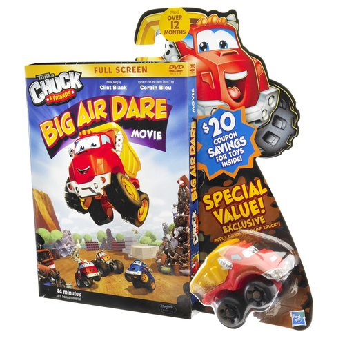Chuck Big Air Dare DVD And Vehicle Multi-Colored