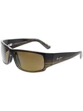 d5b7861f47 Product Image Maui Jim Polarized World Cup H266-01 Brown Rectangle  Sunglasses