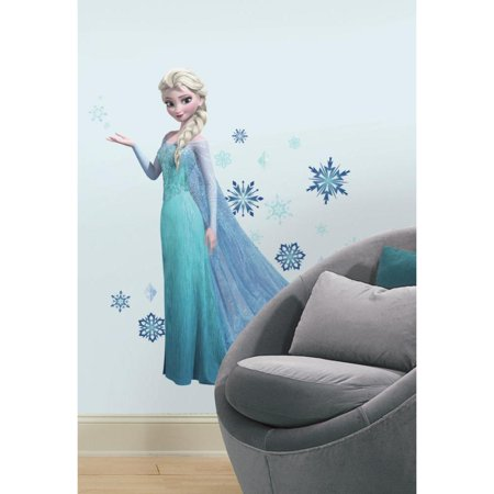 Roommates Disney Giant Elsa Peel and Stick Wall Decals