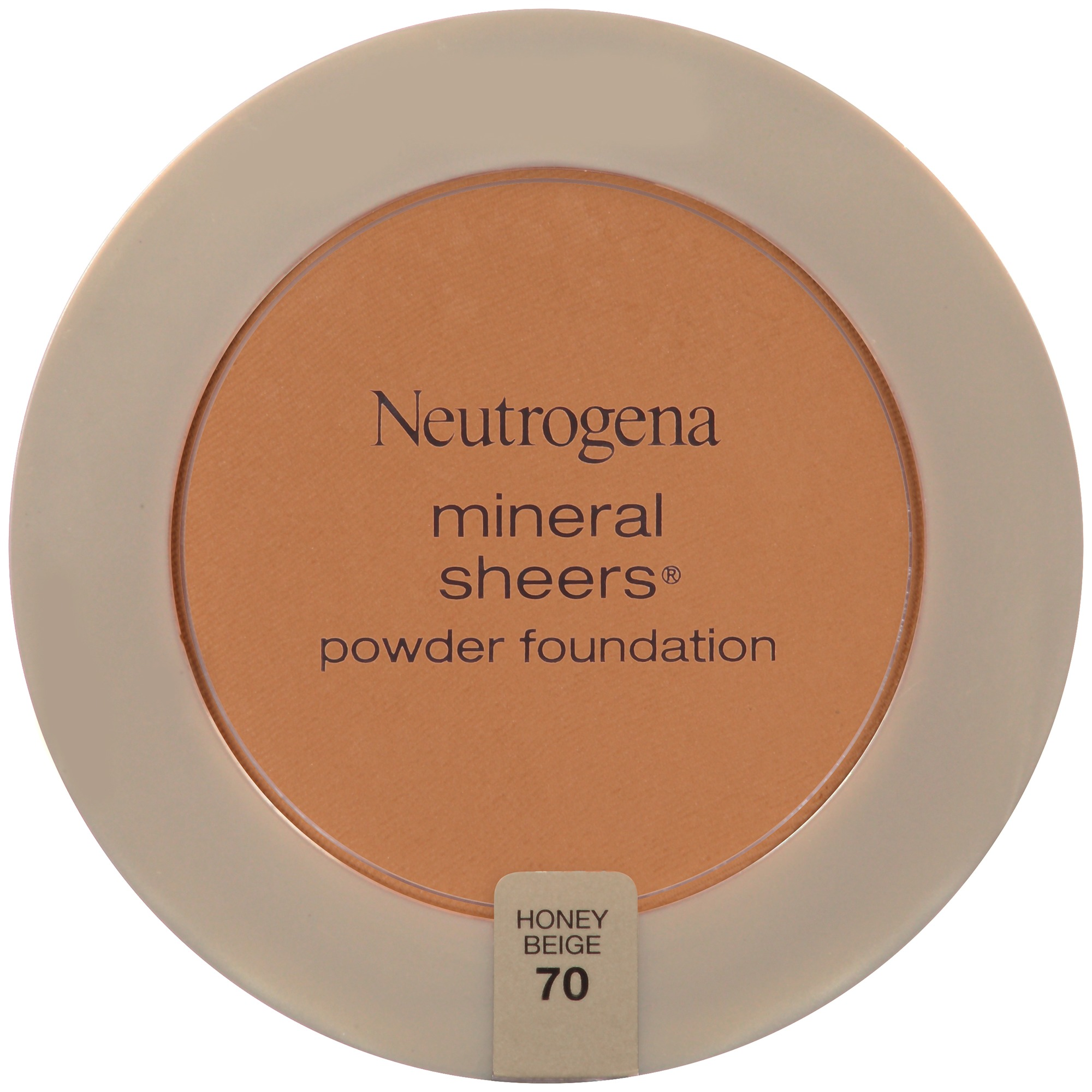 Neutrogena Mineral Sheers Compact Powder Foundation SPF 20, Classic Ivory 10, .34 Oz