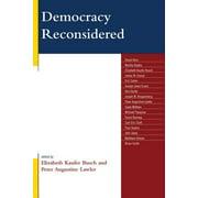 Democracy Reconsidered - eBook