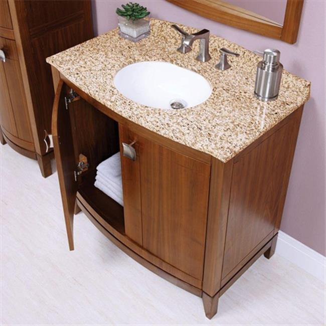 Decolav 1671-GCA Gavin 25 inch Granite Countertop in Carmello