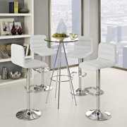 Ripple Bar Stool-Color:Brown,Number of Items:Set Of 4