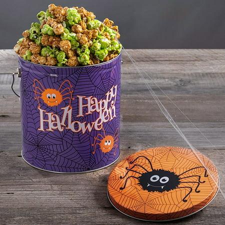 Halloween Name For Popcorn (Halloween Popcorn Tin - Caramel)