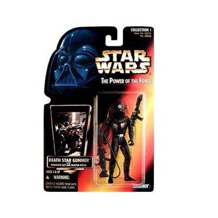 Star Wars: Power of the Force Red Card Death Star Gunner Action