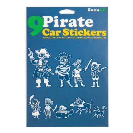 Gamago Pirate Family Auto Car Decals Stickers New