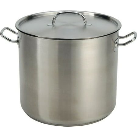 Cook Aluminum Pot (Cook Pro 35-Quart Stainless Steel Stock)