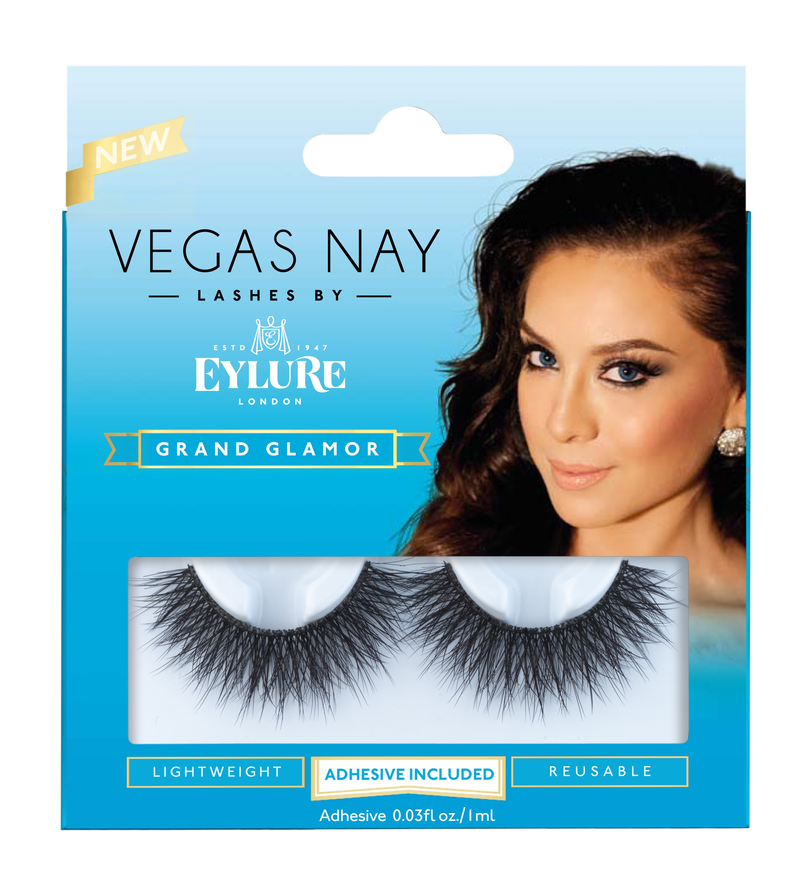 Vegas Nay By Eylure Grand Glamor Eyelashes Kit 2 Pc Walmart
